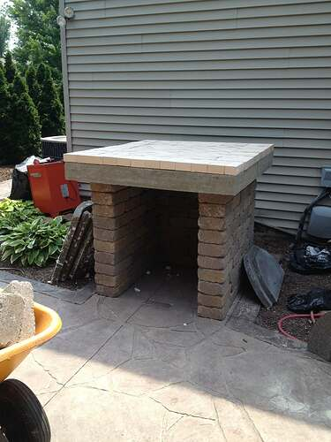 How To Build An Outdoor Brick Oven (60)