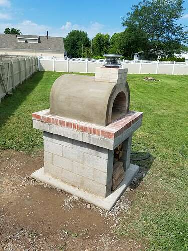 Making An Outdoor Oven (23)
