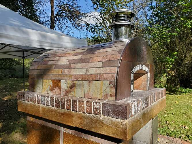Outdoor Wood Burning Pizza Oven (26)