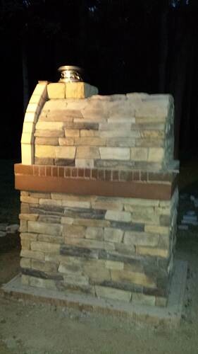 How To Make An Outdoor Pizza Oven (71)