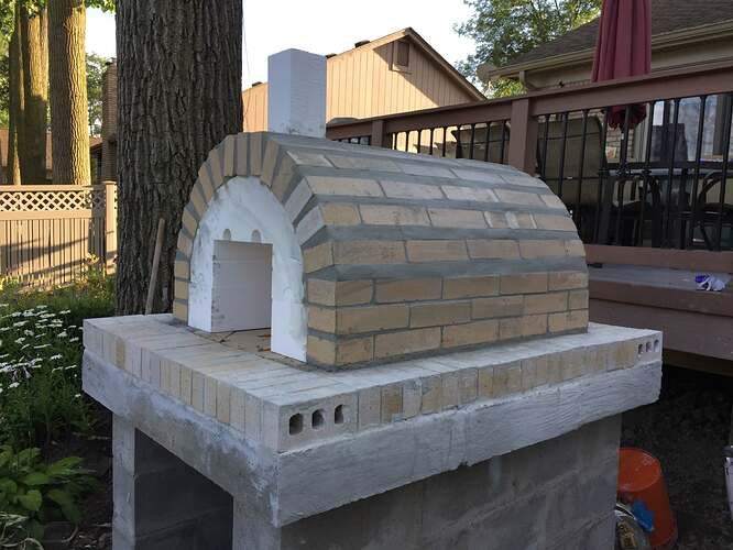 Simple Outdoor Oven (14)