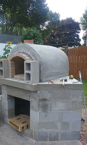 Outdoor Fireplace Pizza Oven Combo (12)