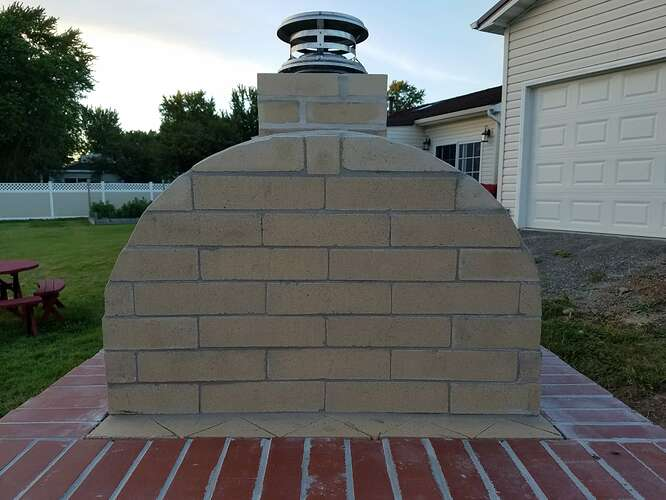 Making An Outdoor Oven (21)