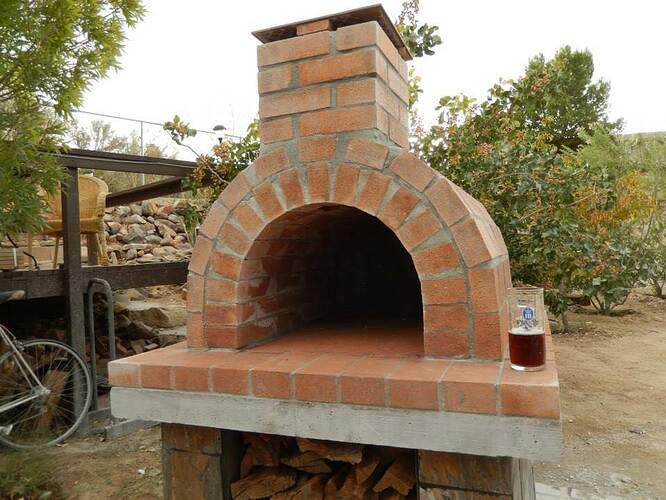 Build Your Own Brick Pizza Oven (26)
