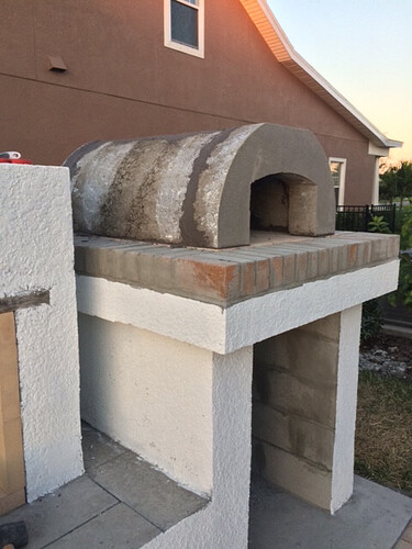 Outdoor Fireplace Pizza Oven Kits (13)