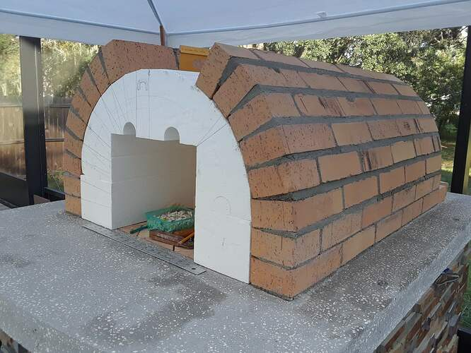 Building A Pizza Oven (107)