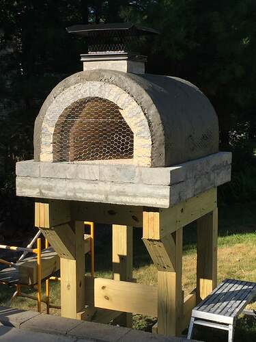 Building a Wood Fired Pizza Oven (33)