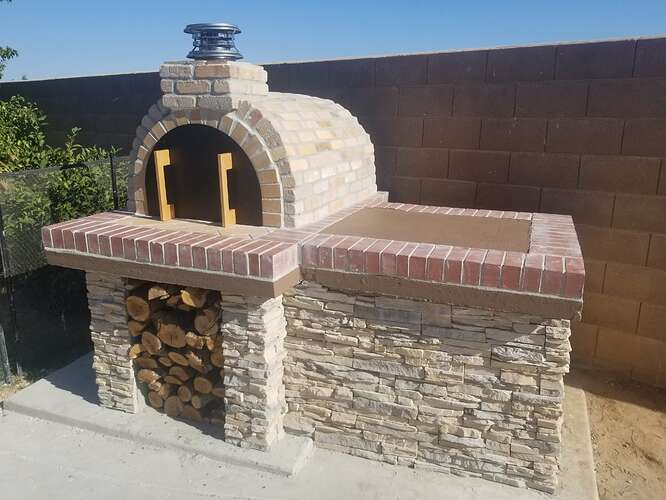 How to Build an Outdoor Pizza Oven Step by Step (24)