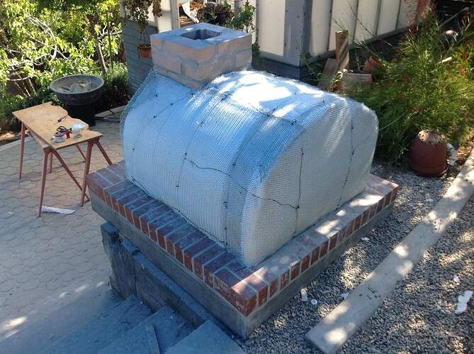Outdoor Wood Fired Oven (25)