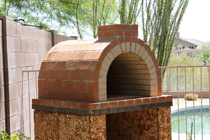 How To Build a Wood Fired Brick Oven (23)