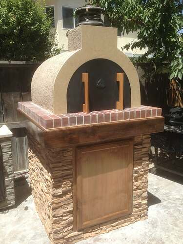 How To Build a Brick Pizza Oven (7)