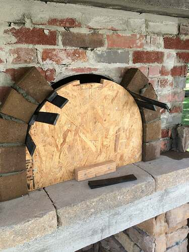 Making An Outdoor Pizza Oven (27)