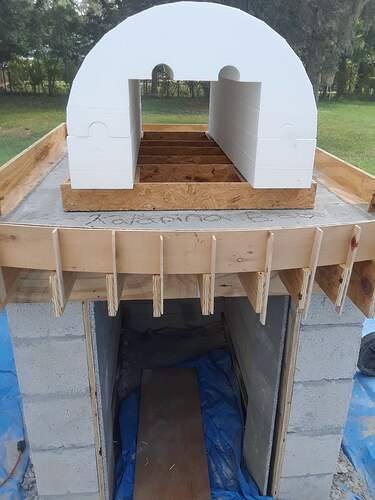 Building A Pizza Oven (39)