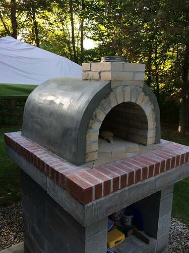 How To Make A Wood Fired Pizza Oven (36)
