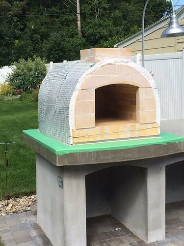 Building A Brick Pizza Oven From Scratch (50)