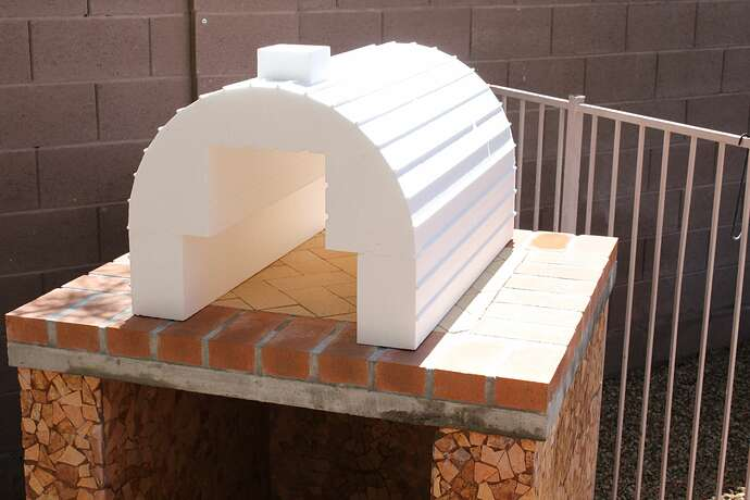 How To Build a Wood Fired Brick Oven (6)