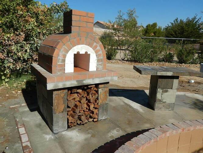 Build Your Own Brick Pizza Oven (24)