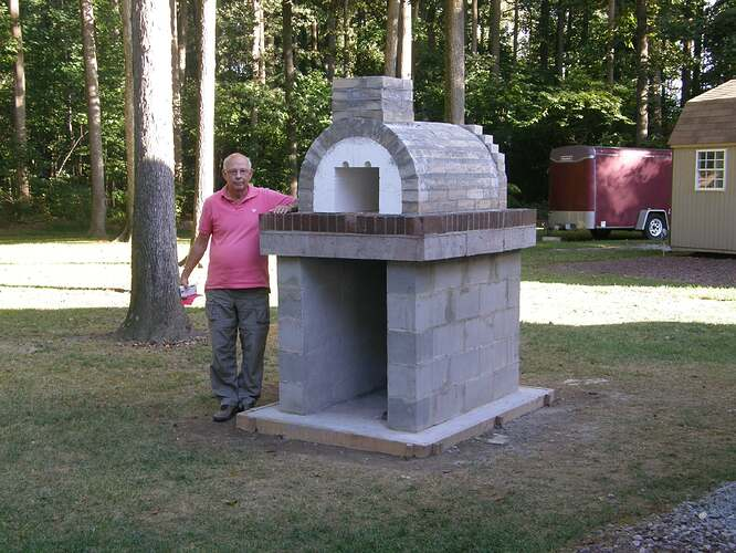 How To Make An Outdoor Pizza Oven (37)