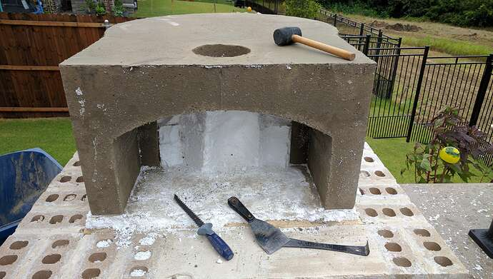 How To Make A Pizza Oven (26)