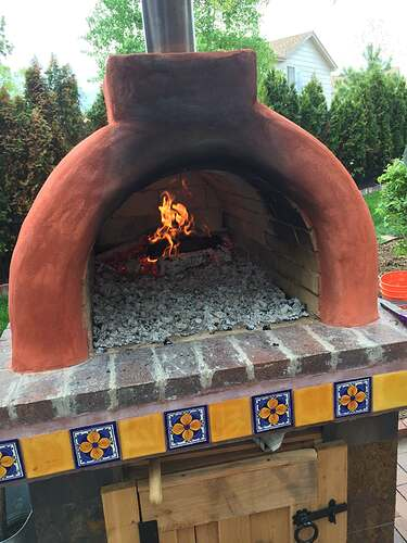 Homemade Outdoor Pizza Oven (46)