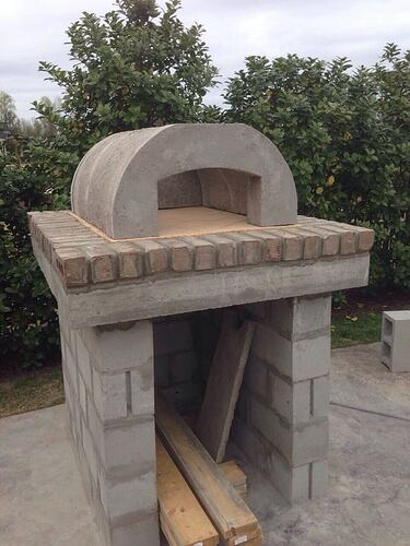 Build A BBQ And Pizza Oven (13)
