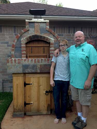 How To Make A Brick Pizza Oven (13)
