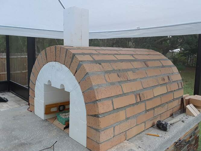 Building A Pizza Oven (115)