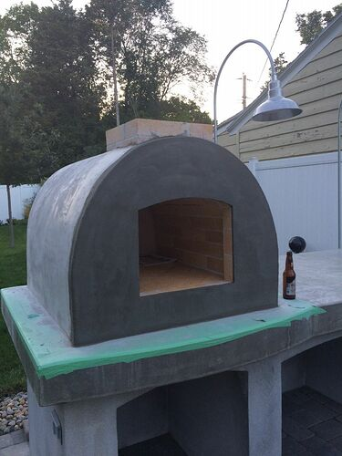 Building A Brick Pizza Oven From Scratch (52)