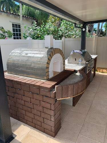 Combination Grill Smoker Pizza Oven (3)