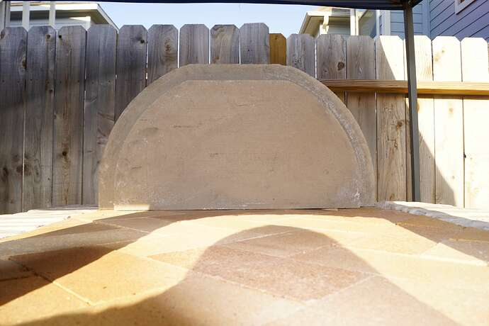 Refractory Cement Pizza Oven (82)