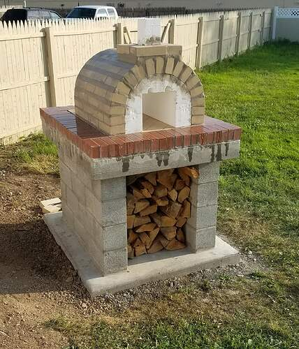Making An Outdoor Oven (19)