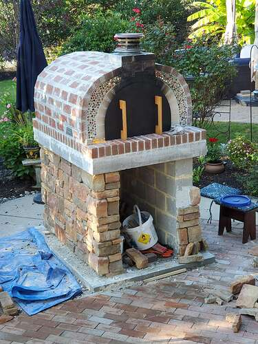 Home Wood Fired Pizza Oven (26)