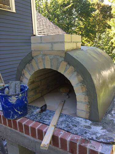 How To Make A Wood Fired Pizza Oven (35)