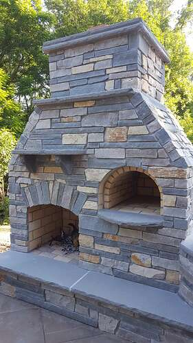 Outdoor Fireplace Plans (6)