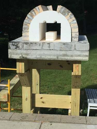 Building a Wood Fired Pizza Oven (16)