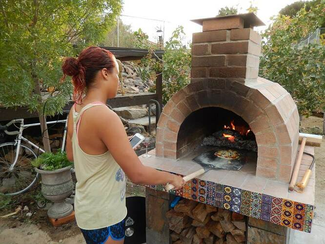 Build Your Own Brick Pizza Oven (41)