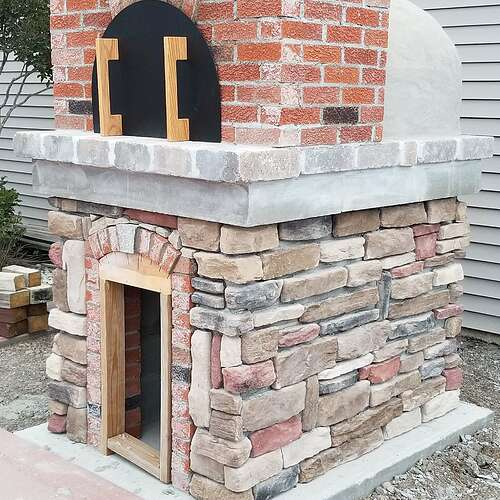 How To Make A Brick Oven (13)