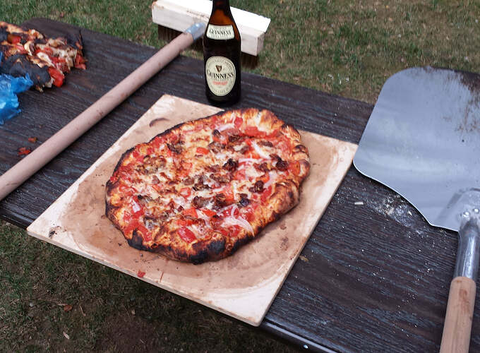 How To Make An Outdoor Pizza Oven (84)