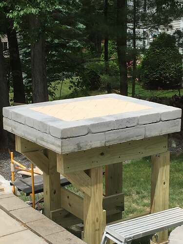 Building a Wood Fired Pizza Oven (11)