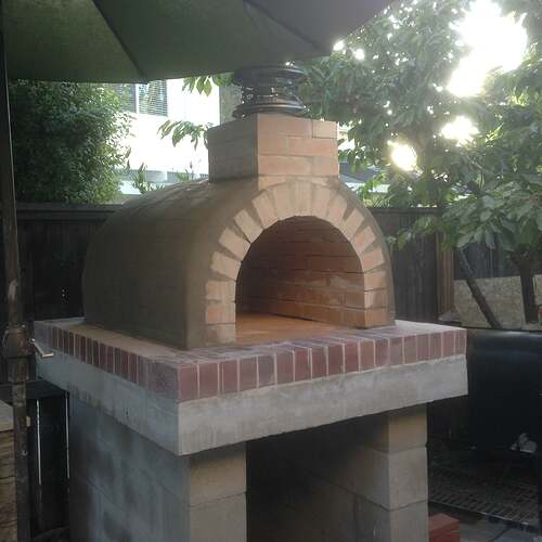 How To Build a Brick Pizza Oven (3)