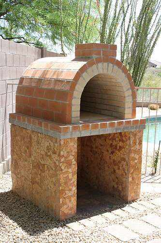 How To Build a Wood Fired Brick Oven (18)