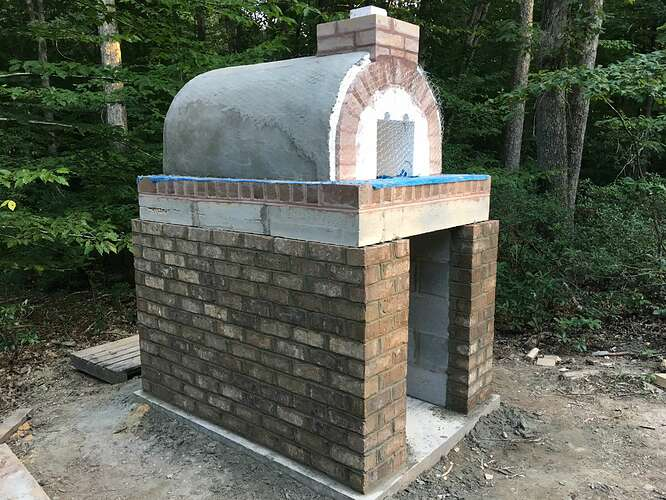 Wood Fired Brick Oven (70)