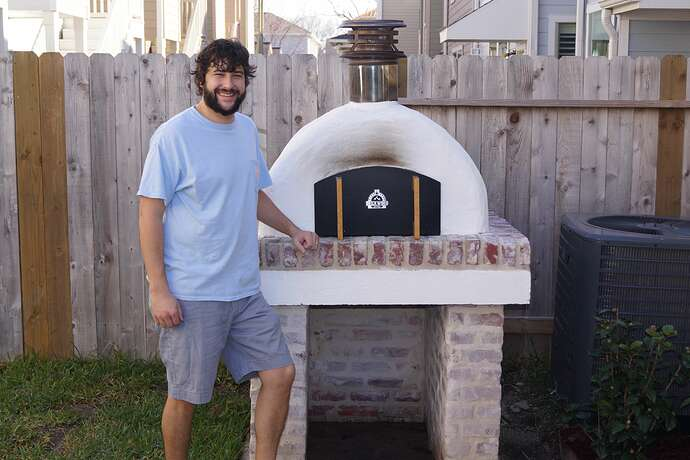 Refractory Cement Pizza Oven