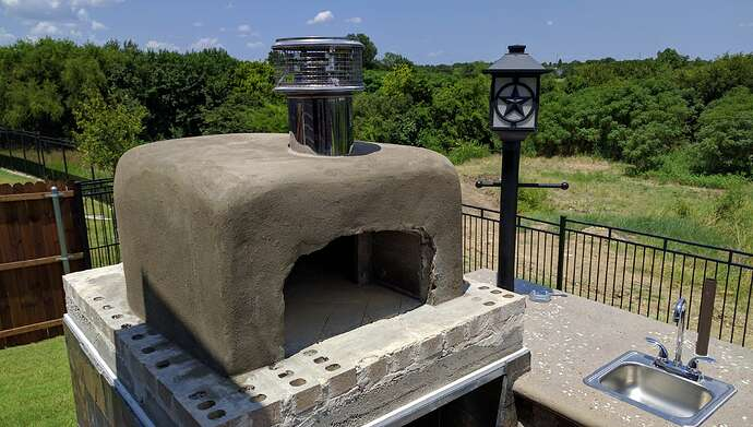 How To Make A Pizza Oven (40)