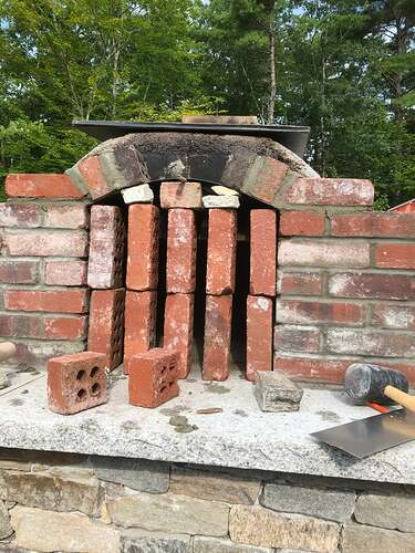 How To Build A Wood Fired Pizza Oven (68)