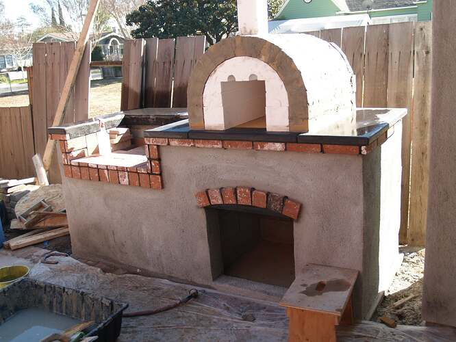 How To Build a Brick BBQ and Pizza Oven (13)