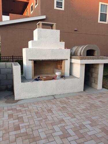 Outdoor Fireplace Pizza Oven Kits (14)