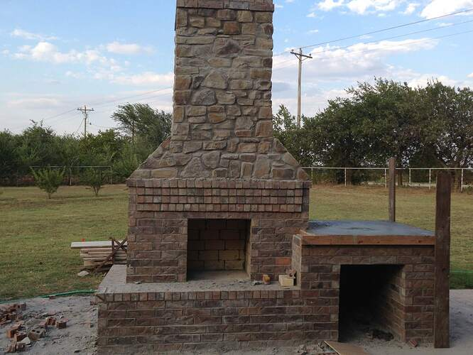 Large Outdoor Fireplace (7)