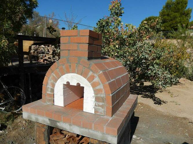 Build Your Own Brick Pizza Oven (22)