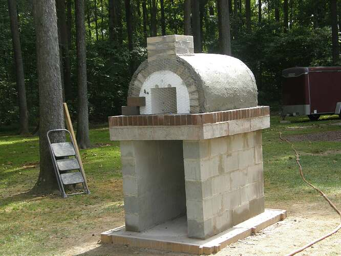 How To Make An Outdoor Pizza Oven (43)